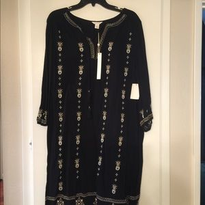 Black Indian themed dress